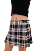 Girl in skirt. — Stock Photo
