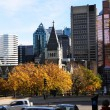 Montreal downtown in fall. — Stock Photo #4620811
