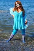 The water girl. — Stock Photo