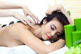 Beauty woman in spa — Stock Photo