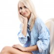 Beautiful woman with blond hair — Stock Photo #5227024