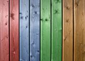 多色木纹板 — 图库照片