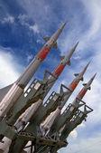 Combat missiles — Stock Photo