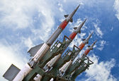 Combat missiles — Stock Photo