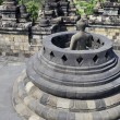 Borobudur  Buddha — Stock Photo