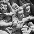 Hindu bas-relief — Stock Photo