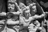 Bajorrelieve hindú — Foto de Stock