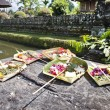 Balinese Offering — Stock Photo