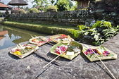 Balinese Offering — Stock fotografie