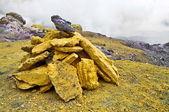 Sulfur Stones — Stock Photo