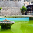 Taman sari water castle green pool — ストック写真