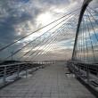 Stock Photo: Harp Bridge Sunset for background or others purpose use
