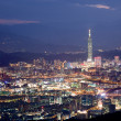 Night sense of Taipei City — Stok Fotoğraf #4572014