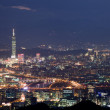 Foto Stock: Night sense of Taipei City