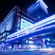 Stock Photo: Night sense of the Taipei City