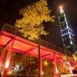Night sense of Taipei City — Stok Fotoğraf #4574636