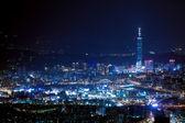 Night sense of the Taipei City — Stock Photo