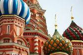 St. Basil Cathedral. Moscow.Russia — Stock Photo