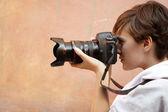 Street photography — Stock Photo