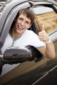 Conducción feliz — Foto de Stock