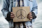 Peace concept — Stock Photo