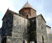 Monastery Sevanavank, Armenia: Sourb Arakelots church — Stock Photo