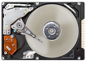Notebook HDD — Stock Photo