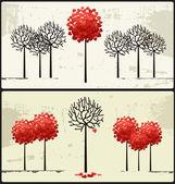 关于爱情. — 图库矢量图片