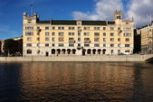 Old palace in Stockholm — Stock Photo