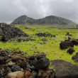 Rano Raraku — Stock Photo