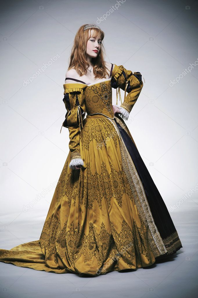 Medieval times lady — Stock Photo #5290166