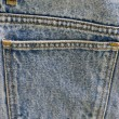 Jeans pocket — Foto Stock