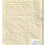 Yellow note paper — Stock Photo