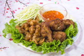 Chicken fried — Stockfoto