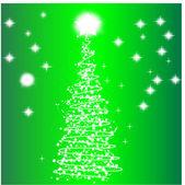 Nouvel an des arbres — Vecteur