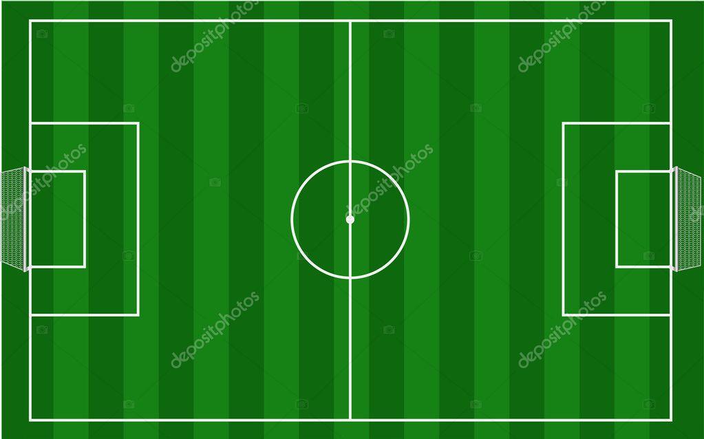 Grass Soccer Field Vector Soccer Field Vector