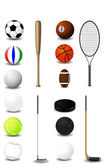 Sports equipment — Stock Vector