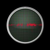 Oscilloscope — Stock Vector