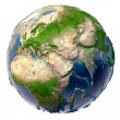 Постер, плакат: Ecological catastrophe of the Earth shallowing of the oceans a