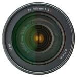 Camera lens isolated on white background — Stock Photo