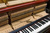 Piano tuning — Stock Photo