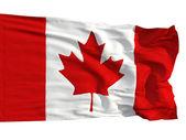 Bandiera del canada, svolazzavano nel vento — Foto Stock