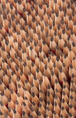 Sharp wooden pencils — Stock Photo