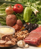 Ingredients for roast meat — Stock Photo