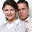 Nice couple — Stock Photo #4461489