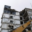 Demolition of a building — Stockfoto