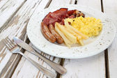 Bacon and Egg Breakfast — Stock Photo