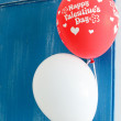 Valentines balloons - Photo