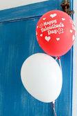 Valentines balloons — Stock Photo