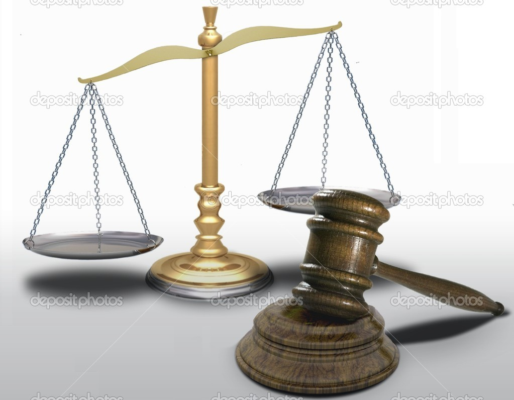 Gavel and scale — Stock Photo © razihusin #4913892
